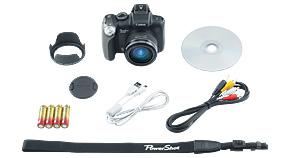 Canon SX20 IS box content