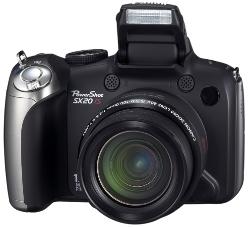 Canon SX20 IS front