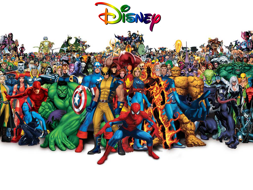 Disney company compra marvel entertainment por 4 mil millones de