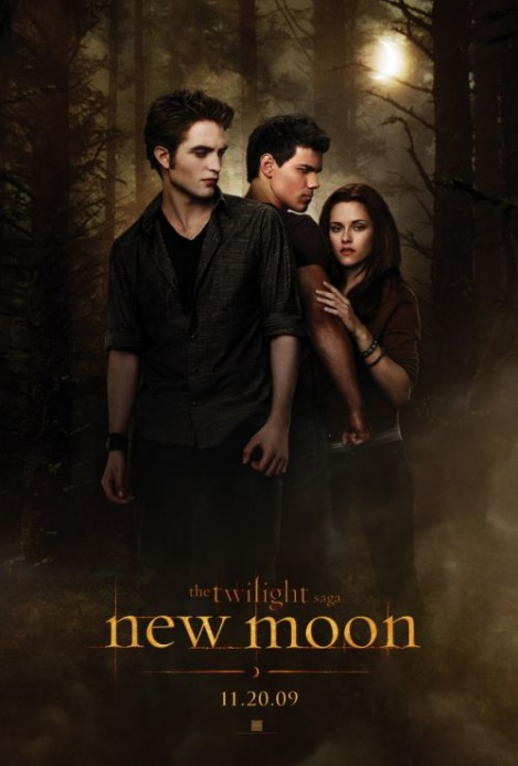 twilight 2 new moon poster oficial