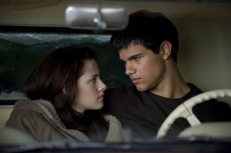 twilight new moon Kristen Stewart y Taylor Lautner