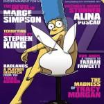Marge Simpson en portada de noviembre 2009 Playboy