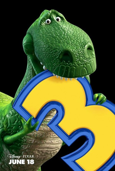 toy story 3 poster rex
