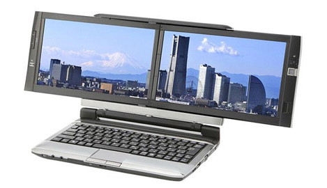 Dual Screen Laptop Kohjinsha DZ Series