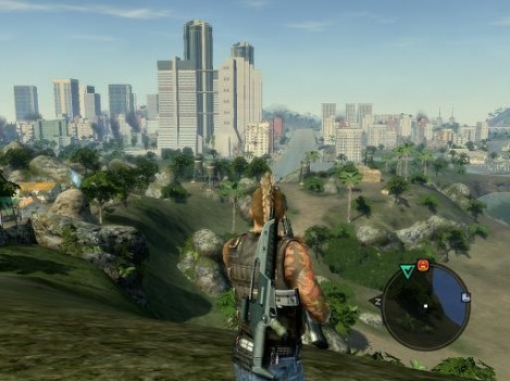mercenaries 2 - parque central caracas