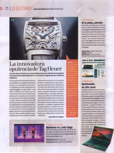 revista todo en domingo página 70 - 8 noviembre 2009