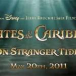 Piratas del Caribe 4 - Estreno 20 de Mayo 2011