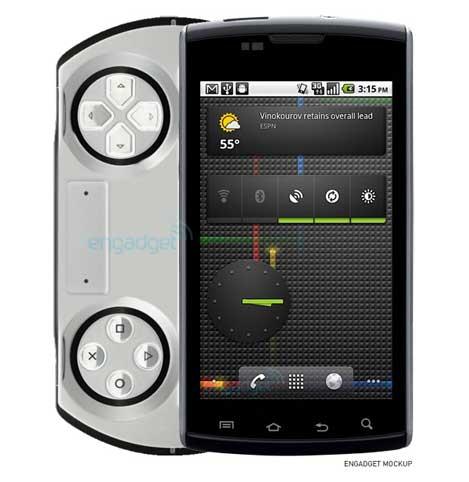 concepto sonyericsson psp smartphone android 3.0