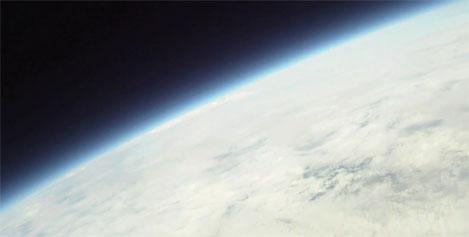Nave espacial hecha en casa
