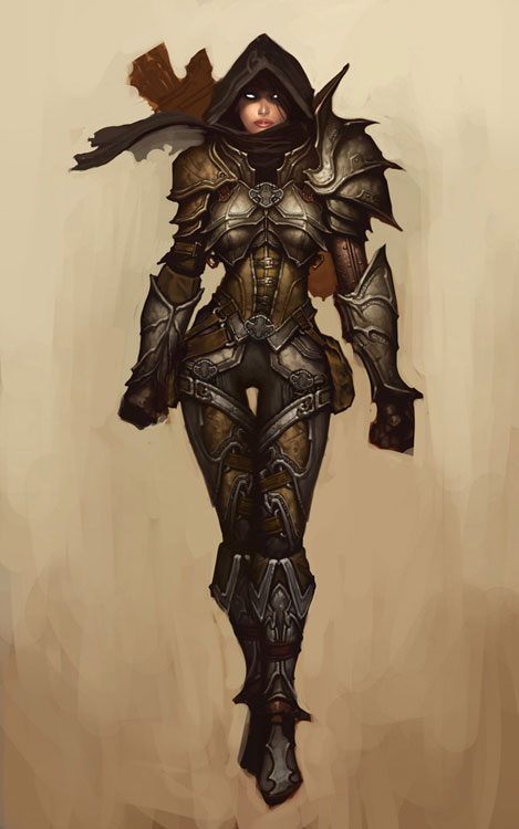Diablo 3 demon hunter armor tips for Demon hunter