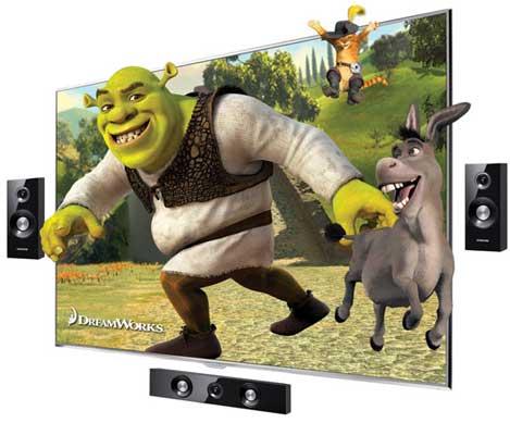 Samsung D8000 y D7000, TVs LED 3D con marco de 5 mm #CES 2011