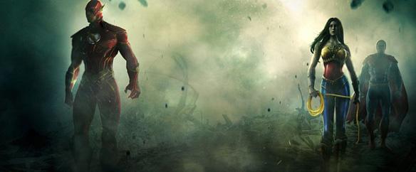 Superhéroes se confrontan en descomunales batallas en Injustice: Gods ...