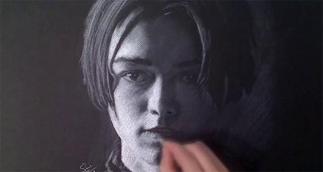 Xiaonan-Arya-Stark-retrato
