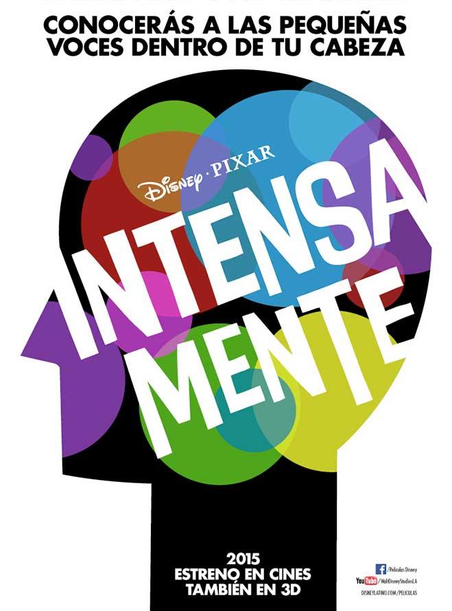 Disney Pixar revela su nueva pelcula animada IntensaMente