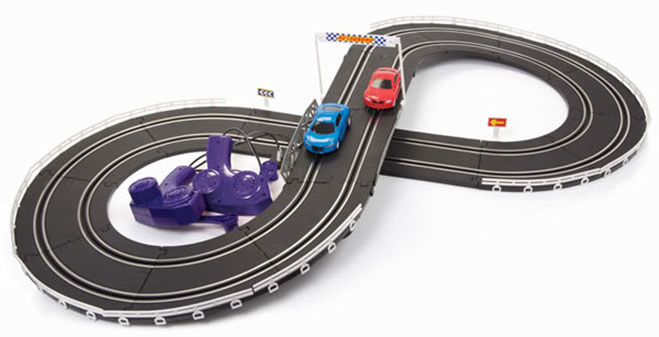 pista-carreras-de-carrito-electrica-retro