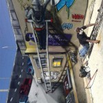 Odeith-Anamorphic-3D-character-painting-bombing-ladders