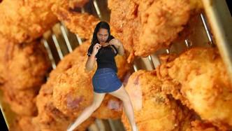 Andrea-Maramara-chica-del-pollo-frito