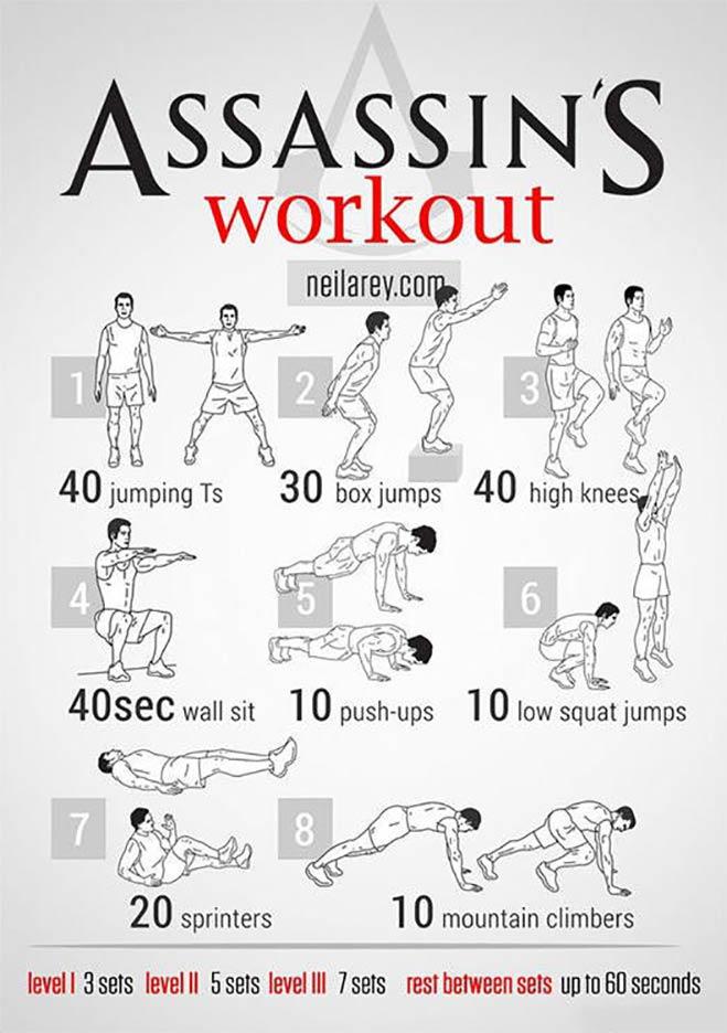 Rutinas de ejercicios basadas en tus superh roes favoritos - Rutinas para casa ...