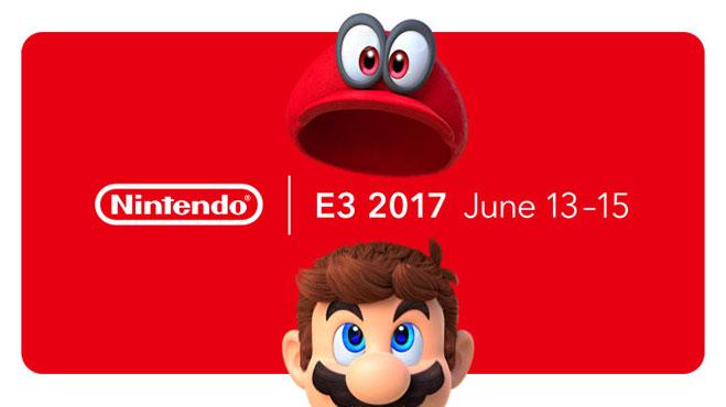 Presentación de novedades de Nintendo en E3 2017