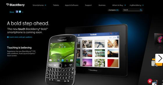 Blackberry Bold Touch Oficial