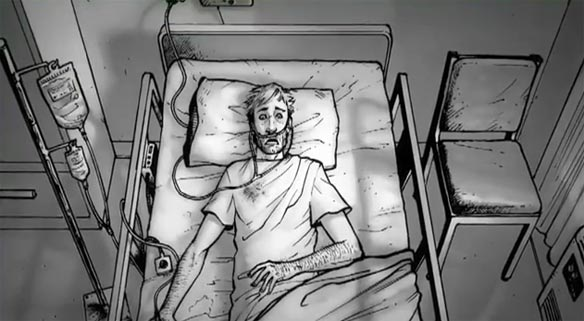 Comic Animado The Walking Dead (video